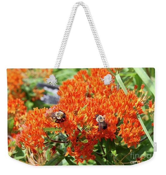 Bees Weekender Tote Bag