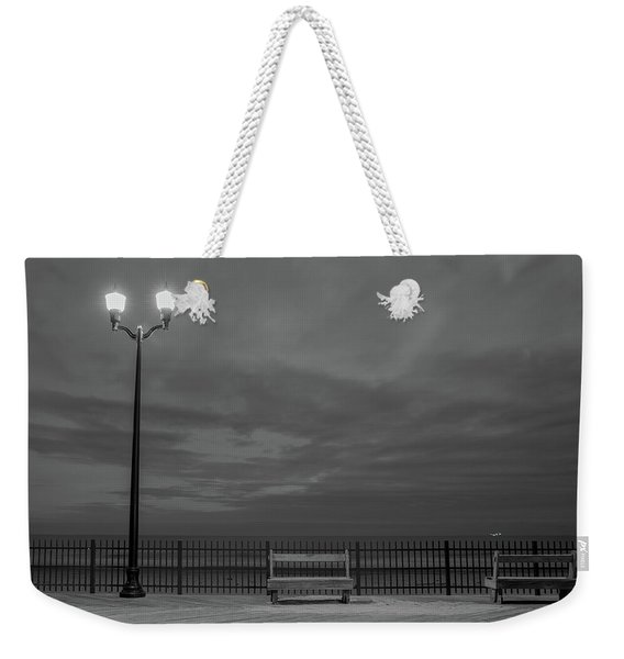 Before Dawn On The Boards Weekender Tote Bag