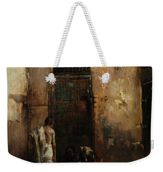 Beggars By A Door, 1870 Weekender Tote Bag