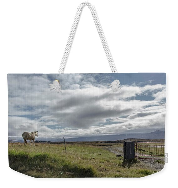 Behold A Pale  Horse Weekender Tote Bag