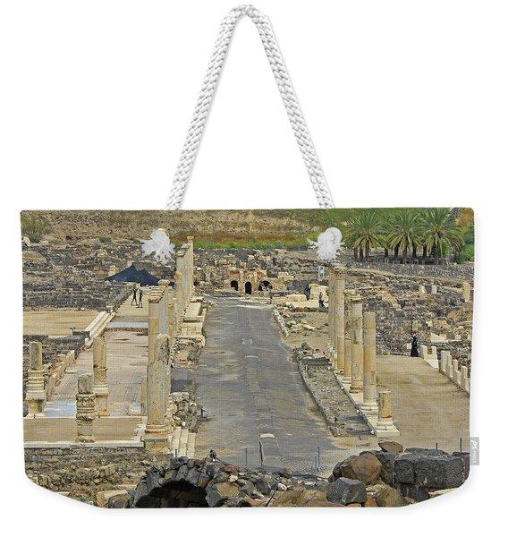 Beit Shean, Israel Weekender Tote Bag