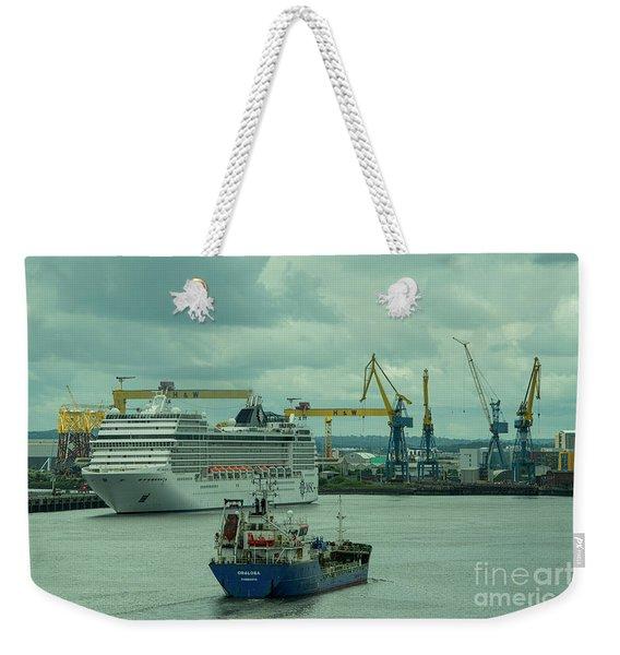 Belfast Shipyard  Weekender Tote Bag