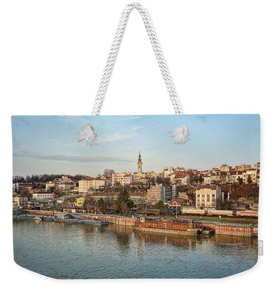 Belgrade Cityscape Weekender Tote Bag