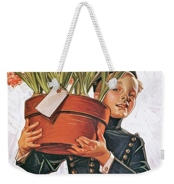Bell Boy With Hyacinth - Digital Remastered Edition Weekender Tote Bag