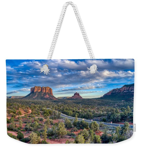Bell Rock Scenic View Sedona Weekender Tote Bag