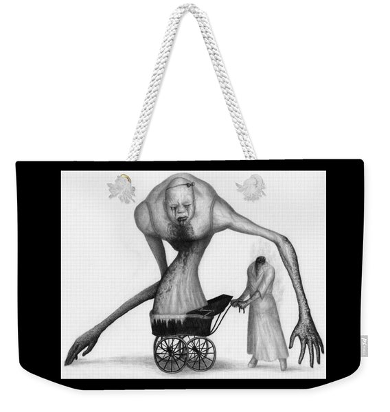 Bella The Nightmare Carriage Updated - Artwork Weekender Tote Bag