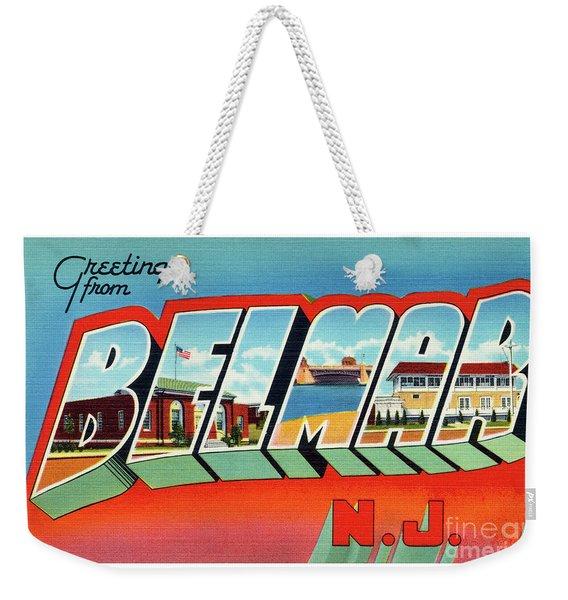 Belmar Greetings Weekender Tote Bag