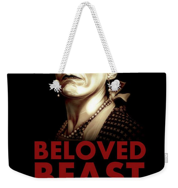 Beloved Beast Iva Treadwell Weekender Tote Bag