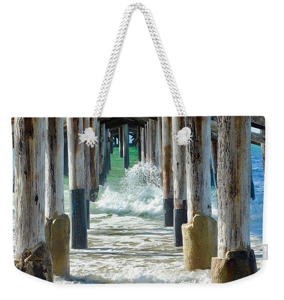 Below The Pier Weekender Tote Bag