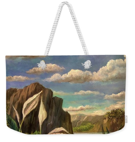 Beneath The Clouds Of Africa Weekender Tote Bag