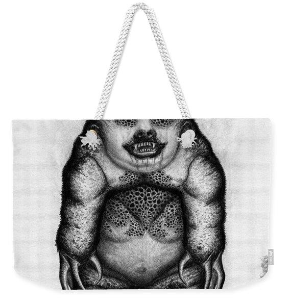 Benjamin The Nightmare Bear Artwork Weekender Tote Bag