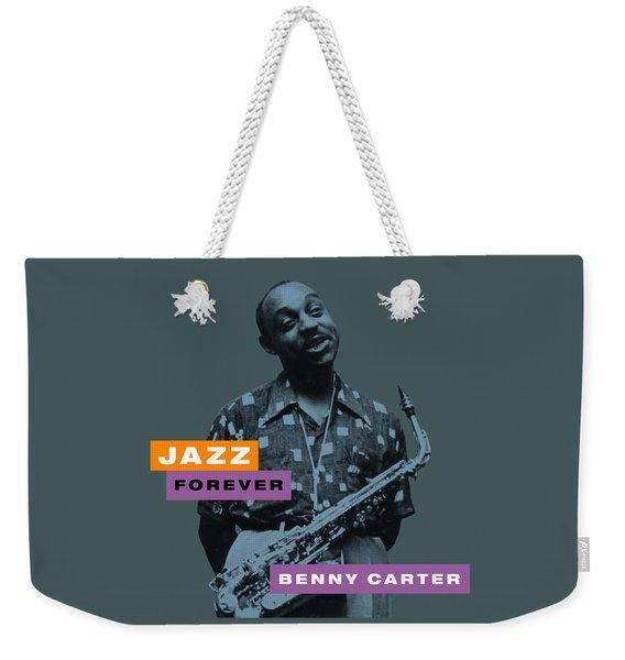 Benny Carter - Jazz Forever Weekender Tote Bag