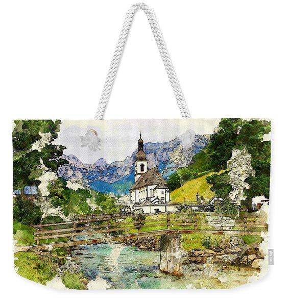 Berchtesgaden Weekender Tote Bag