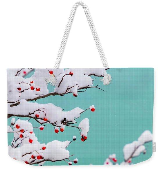 Berries And Cream Weekender Tote Bag