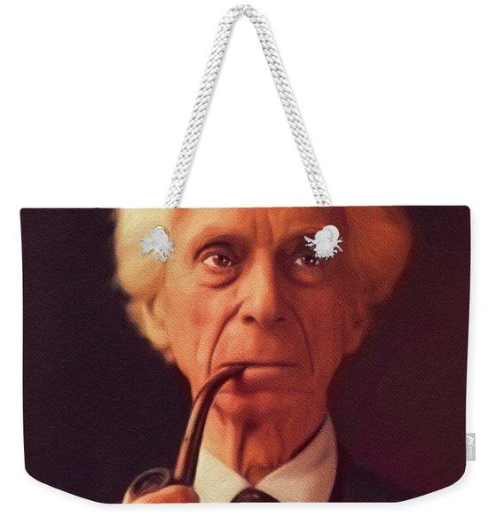 Bertrand Russell, Philosopher Weekender Tote Bag