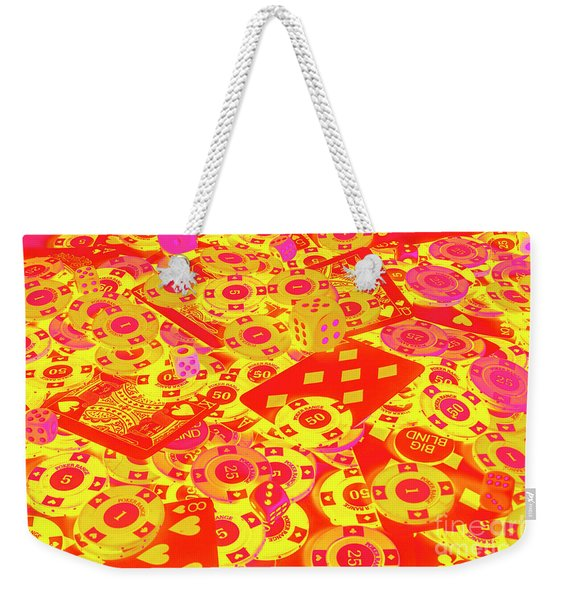 Betting Background Weekender Tote Bag