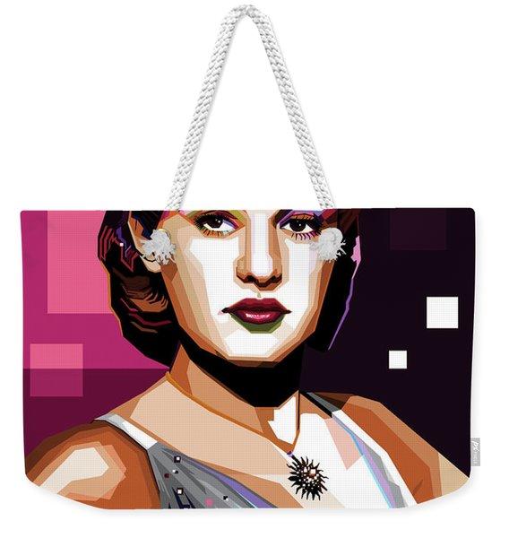 Betty Grable Weekender Tote Bag