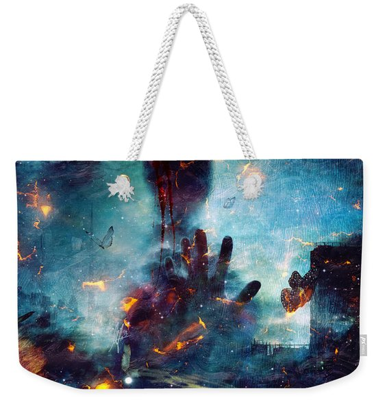 Between Life And Death Weekender Tote Bag