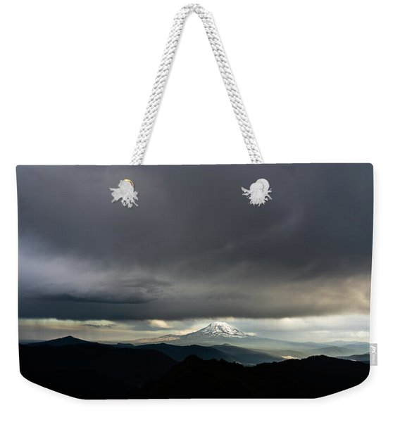 Between The Darkness Weekender Tote Bag