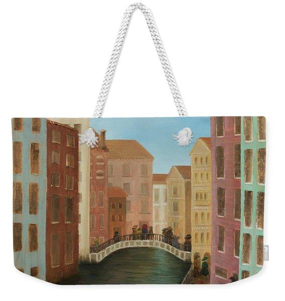 Beyond The Grand Canal Weekender Tote Bag