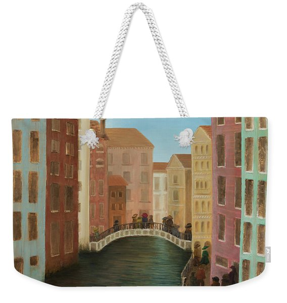 Beyond The Grand Canal Weekender Tote Bag