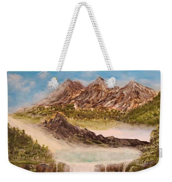 Beyond The Mountains Weekender Tote Bag