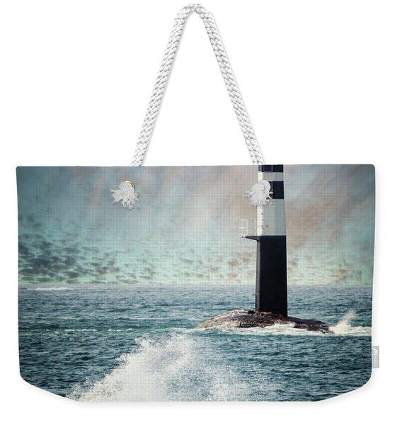 Beyond The Northern Waves Weekender Tote Bag