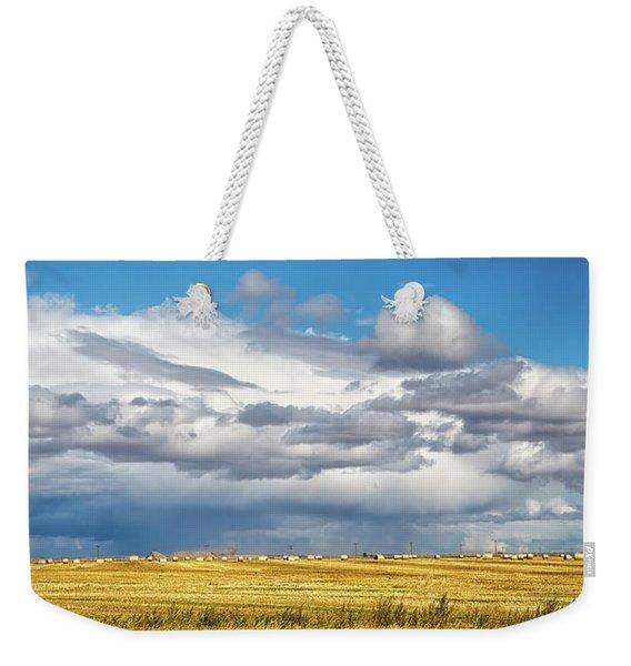Big Sky Montana Weekender Tote Bag