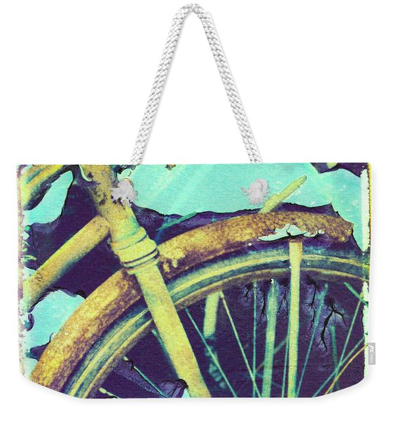Bike 3 Weekender Tote Bag