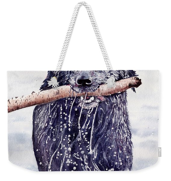 Bill Out Of The Blue Weekender Tote Bag