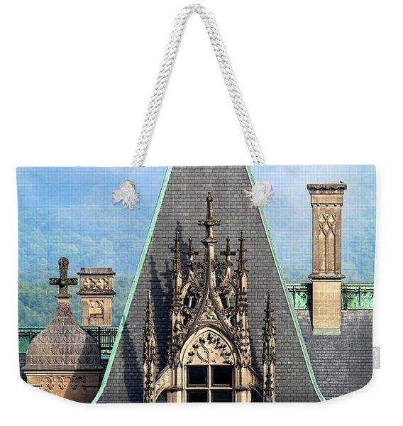 Biltmore Architectural Detail  Weekender Tote Bag