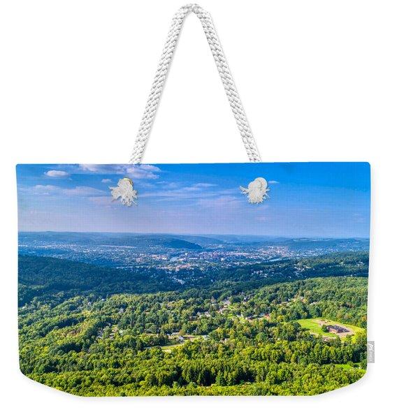 Binghamton Aerial View Weekender Tote Bag