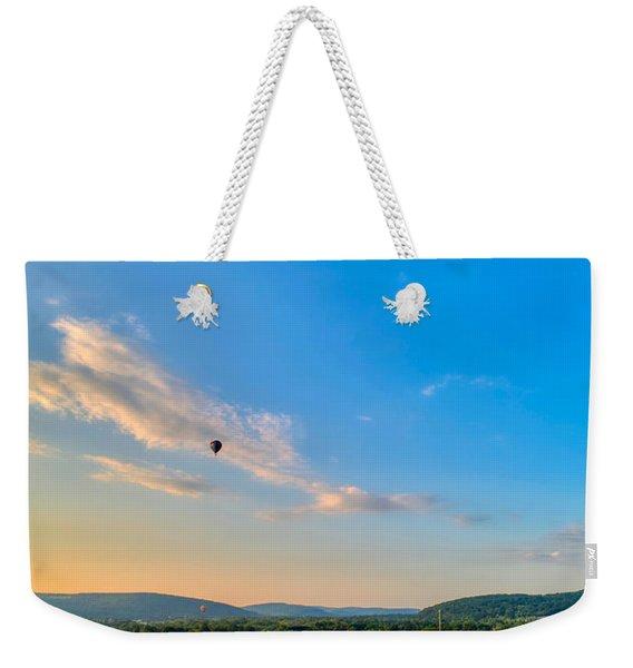 Binghamton Spiedie Festival Air Ballon Launch Weekender Tote Bag