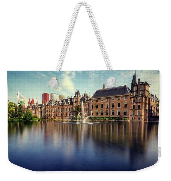 Binnenhof, The Hague Weekender Tote Bag
