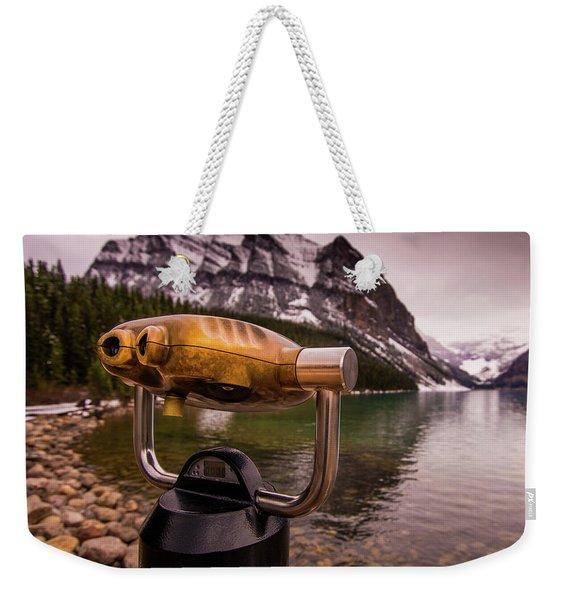 Binoculars Weekender Tote Bag