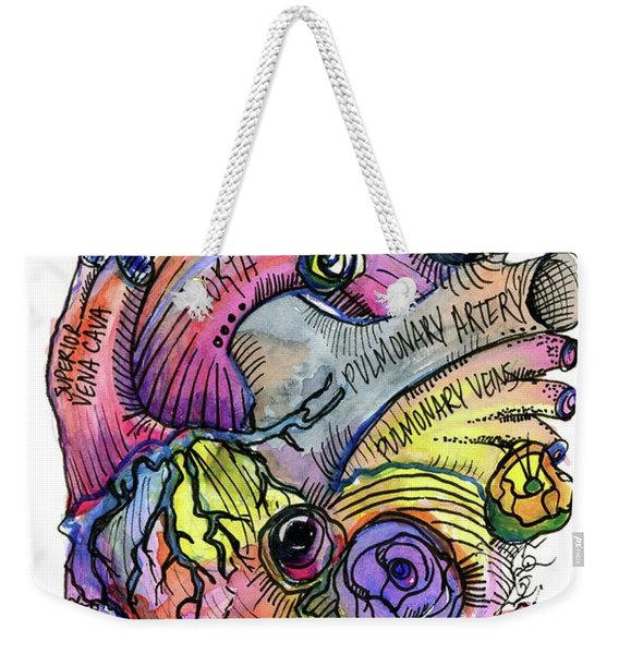 Biotic Aortic Weekender Tote Bag
