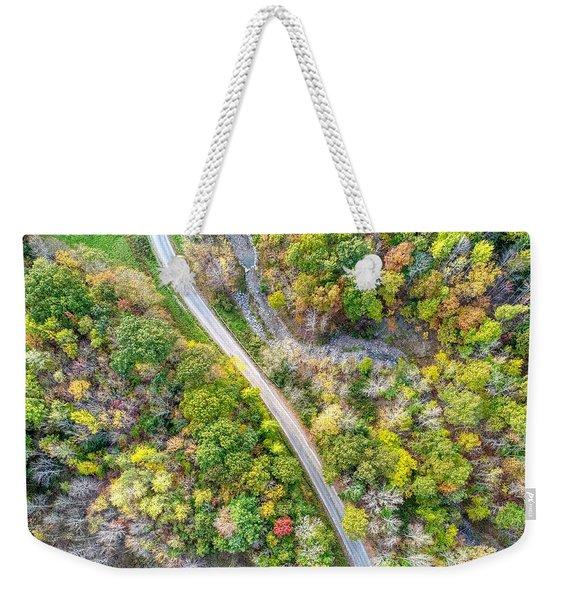 Bird Eye View Weekender Tote Bag