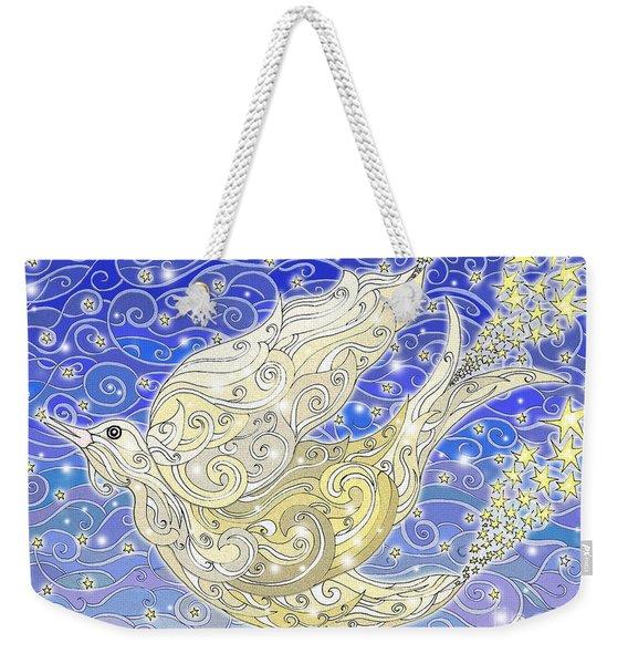 Bird Generating Stars Weekender Tote Bag