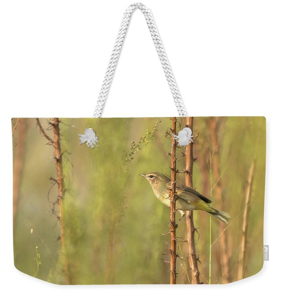 Bird On Branch Weekender Tote Bag