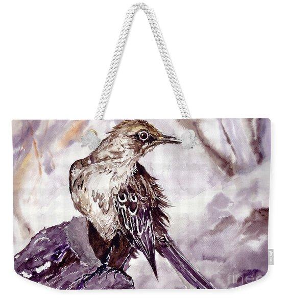 Bird On The Rock Weekender Tote Bag