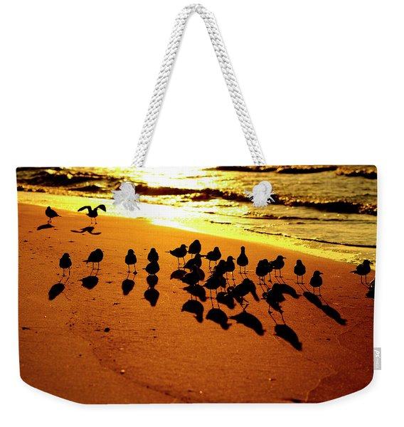 Bird Shadows Weekender Tote Bag