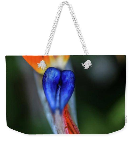 Birds Of Paradise Up Close Weekender Tote Bag
