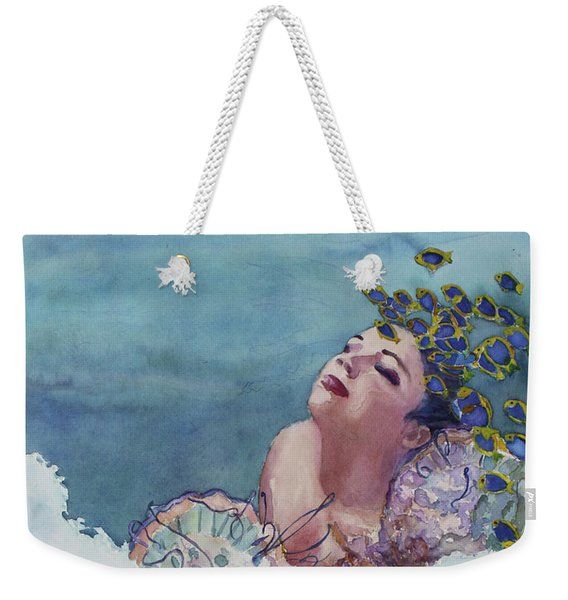 Birth Of Venus Two Weekender Tote Bag