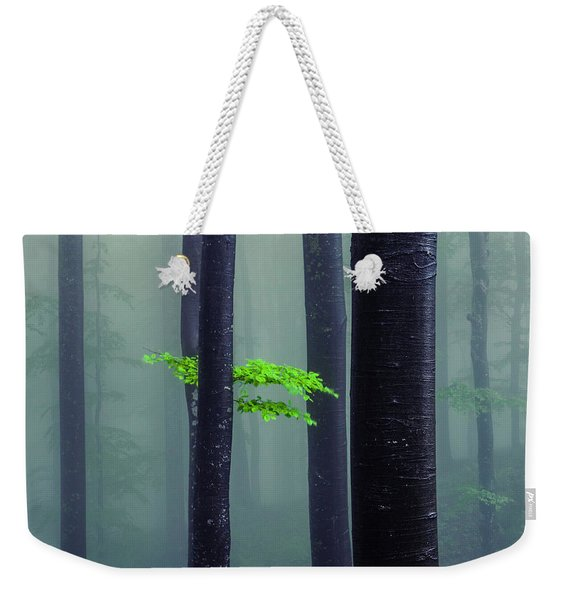 Bit Of Green Weekender Tote Bag