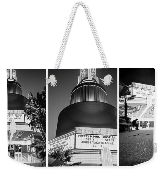 Black And White Triptych- Weekender Tote Bag