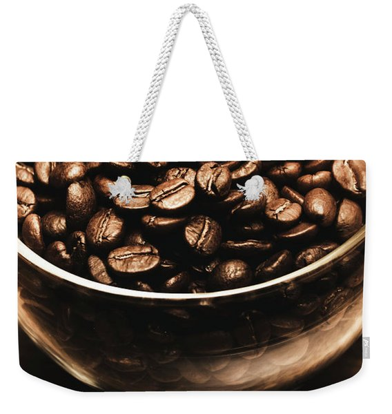 Black Coffee, No Sugar Weekender Tote Bag