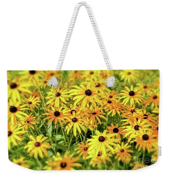 Black Eyed Susans Weekender Tote Bag