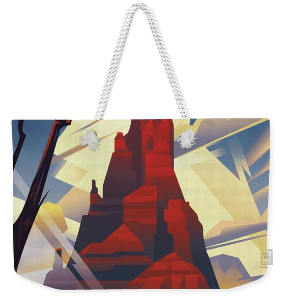 Black Mesa Arizona Weekender Tote Bag