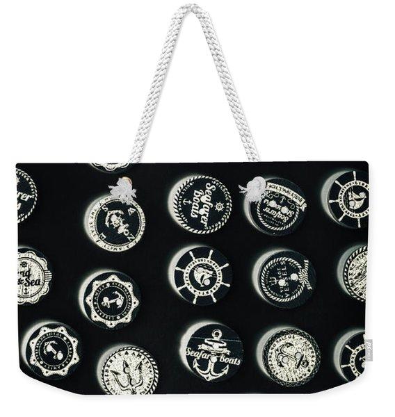 Black Sea Insignia Weekender Tote Bag
