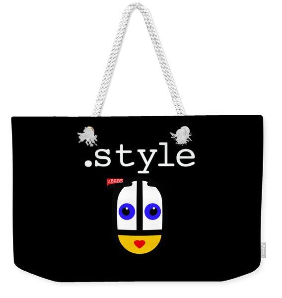Black Style Ubabe Weekender Tote Bag